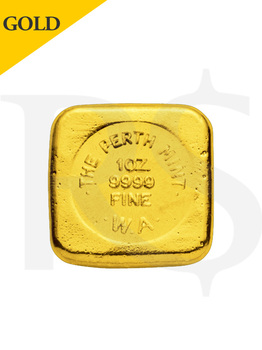Perth Mint 1 oz (31.1g) 999 Casting Gold Bar