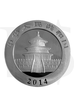 2014 Chinese Panda 1 oz Silver Coin