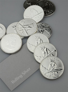 Canadian Wildlife Series: Cougar 1oz Silver Coin (Capsule)