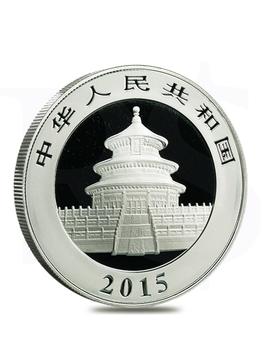 2015 Chinese Panda 30 grams Silver Coin
