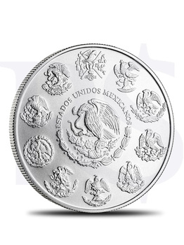 2015 Mexican Libertad 1 oz Silver Coin (with Capsule)