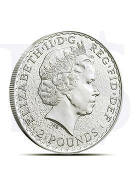 2015 1 oz Silver Britannia (With Capsule)