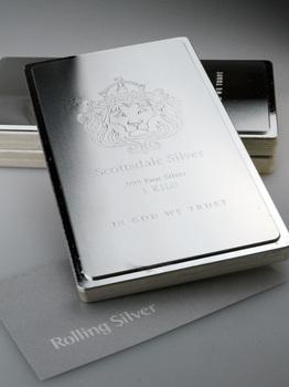 Scottsdale Kilo Stacker Silver Bar 1kg