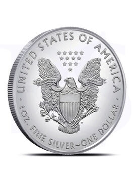 2019 American Eagle 1 oz Silver Coin (with Capsule)