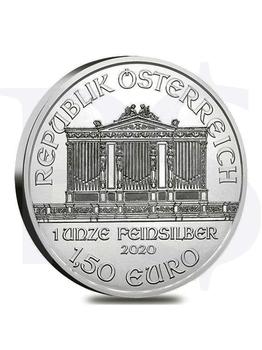 2020 Austrian Philharmonic 1 oz Silver Coin (with Capsule)