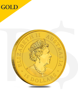 2021 Perth Mint Kangaroo 1/10oz (3.11g) 9999 Gold Coin