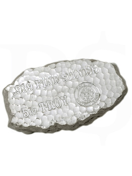 "Scottsdale ""Tombstone"" 5oz Silver Nugget"