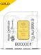PAMP Suisse 1 gram 999 Gold Bar (Multigram+25 Design)