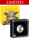 2021 Perth Mint Baby Ox 1/2oz Coloured Silver Proof Coin